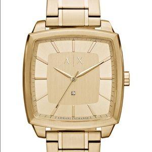 Ax Armani Exchange Square Bracelet Watch